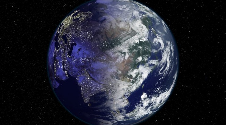 An image of the planet earth.