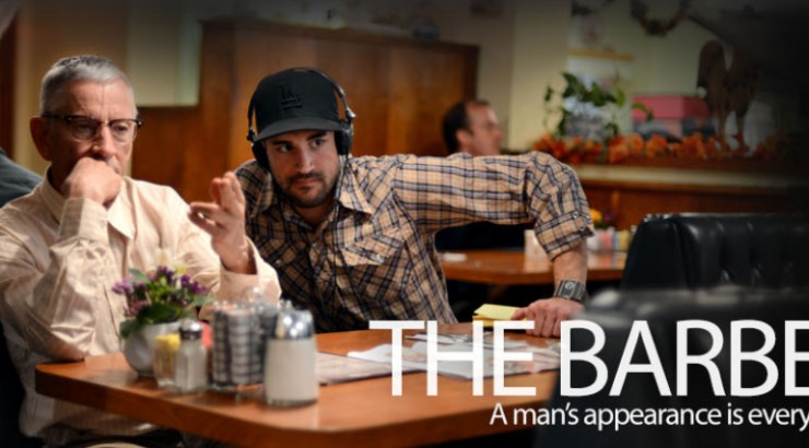 Image of the header image of the Chapman Filmed Entertainment's website for THE BARBER.