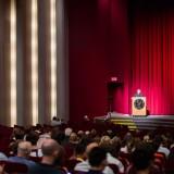 dean bassett addressing audience