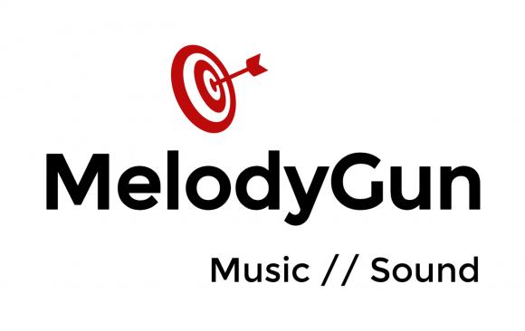melody gun logo