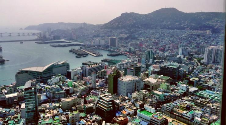cityscape of busan