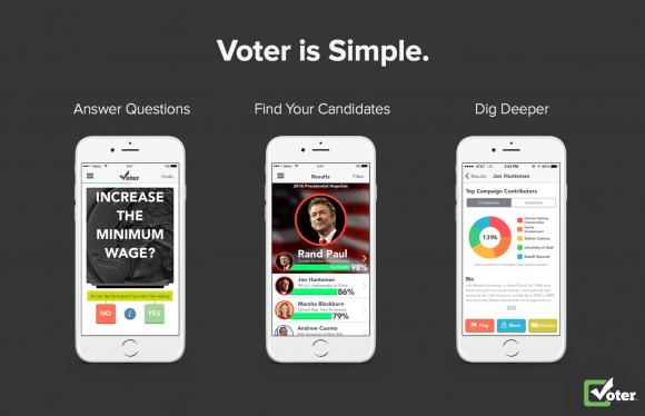 voter screenshots