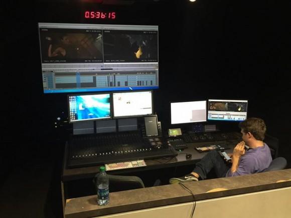 man editing cronus in suite