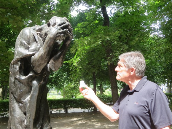 bill kroyer offering statue medicine