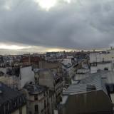landscape shot of paris