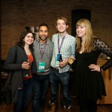 group shot from the sundance reception