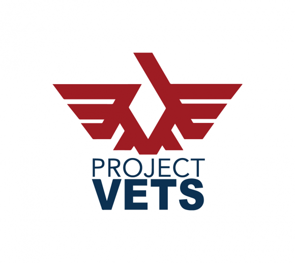 logo for project vets