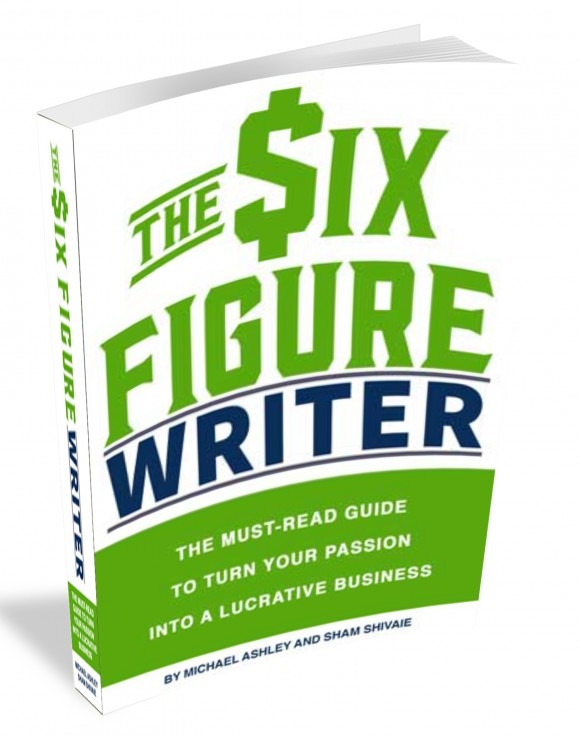 picture of a book, the six figure writer