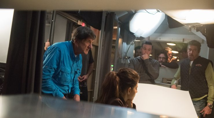 John Badham on the Set of Supernatural - photo by Dean Buscher Warner Bros. Television (3)