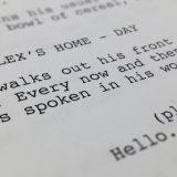 Screenwriting: Where The Story Begins
