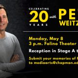 Celebrating Pete Weitzner's 20 Years of Service to Chapman University