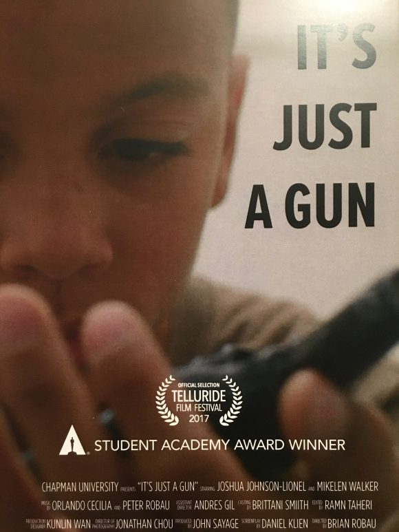 It's Just a Gun Poster