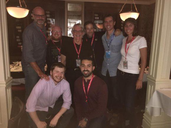 Chapman crew at Telluride Film Festival
