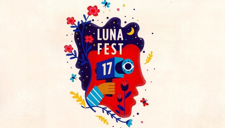 lunafest 2018 promo flyer screened at Chapman university