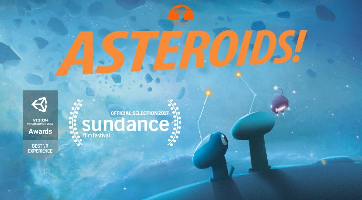 Asteroids! promo flyer