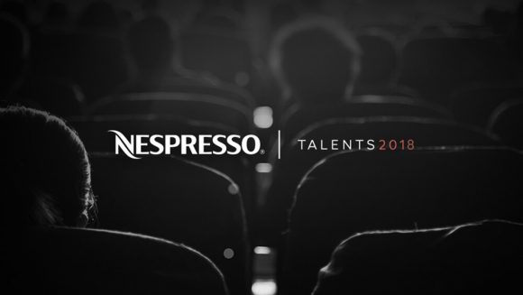 nespresso talent competition promo poster