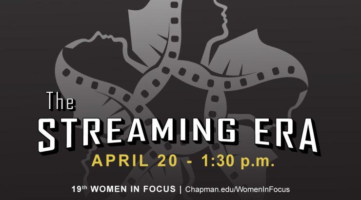 Women in Focus - Streaming Era flyer