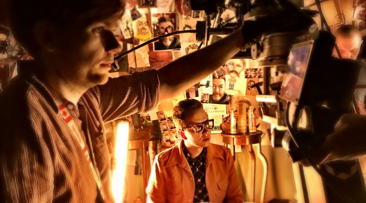 Director Alex Italics on The Greatest music video set