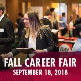 fall 2018 career fair, chapman