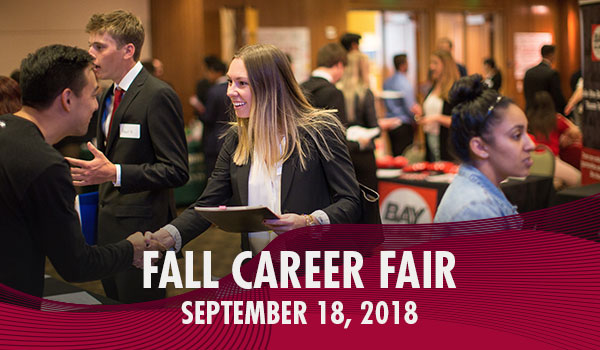 fall 2018 career fair, chapman