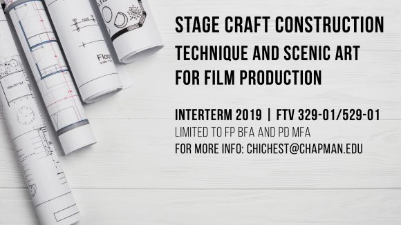 Interterm 2019 Course Offerings - Dodge College of Film and