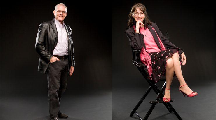 Dean Bob Basett and Chair Janell Shearer