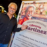 Rueben Martinez at the Grand Opening of Libreria Martinez in 2012