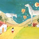 Artwork for children's book illustration show.