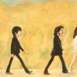 Artwork of the Beatles.