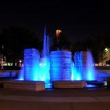 Attallah Piazza fountain