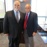 From Left to Right: Dean Cardinal and Dr. Mike Madrid