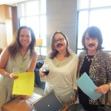 From Left to Right: Monique Daviss, Executive Director of El Sol Academy; Dr. Anaida Colon-Muniz; and CarolRoughton