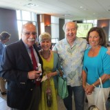 Mike Madrid and his wife Elaine posing with their friends Bill and Joyce Urone