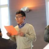 Dr. Chris De Pedro praising Dr. Madrid with limericks