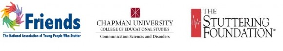 Logos: The National Association of Young People Who Stutter (Friends), Chapman University College of Educational Studies - Communication Science Disorders, The Stuttering Foundation