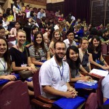 Travel course students at 4th International Conference on School Psychology in Hanoi, Vietnam