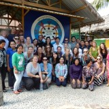 Travel Course Students in Cambodia