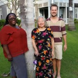 From Left to Right: Charlotte Achieng-Evensen , Dr. Susan Matoba Adler, and Kevin Stockbridge