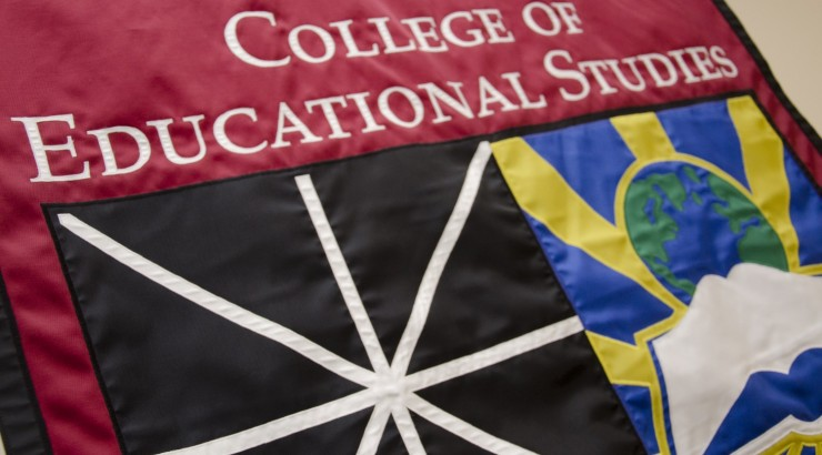 College of Educational Studies flag.