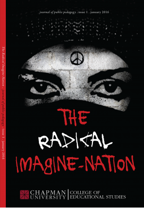 Cover art for The Radical Imagine-Nation.