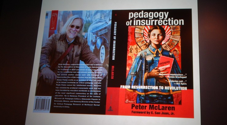 Cover art for Pedagogy of Insurrection.