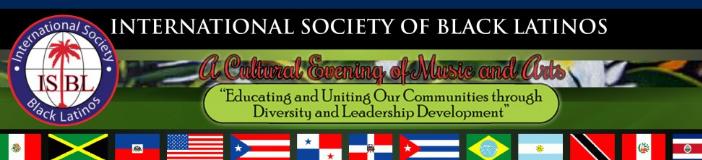 International societ of black latinos masthead