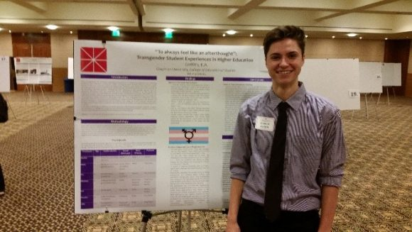 Poster presentation by junior researchers presented at Student Research Day (Spring)