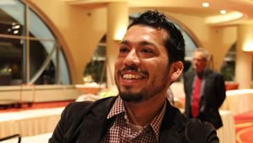 Jorge smiling