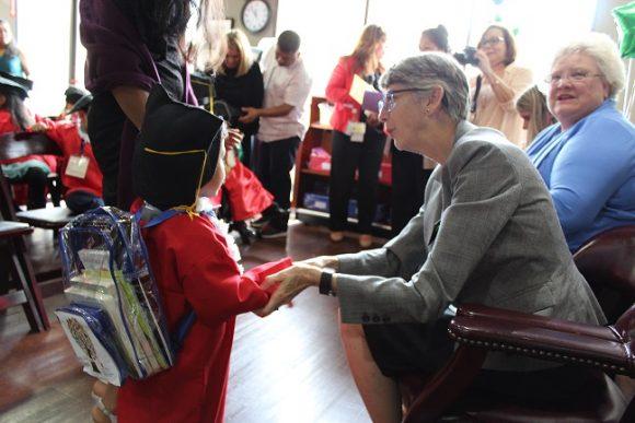 Margaret Grogan at Centro Comunitario de Educación