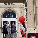 Reeves Hall Ribbon Cutting Draws Community