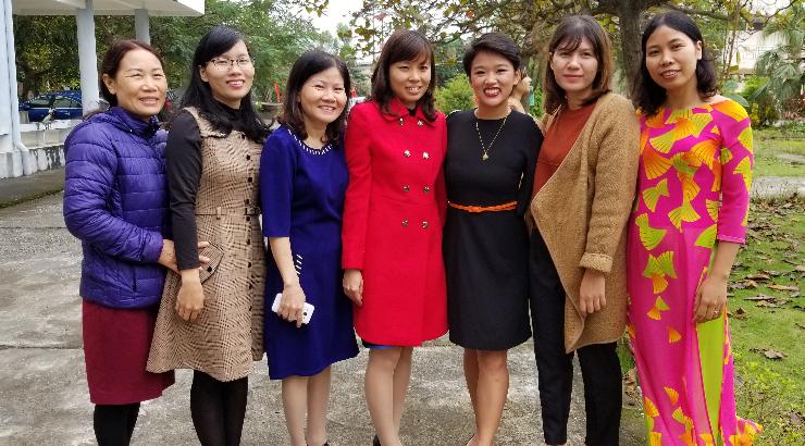 Caitlyn Nguyen in Vietnam