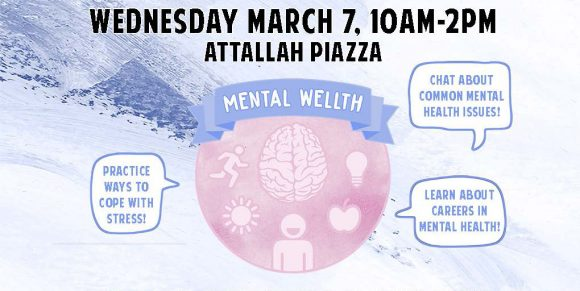 Mental Health Awareness Fair flyer