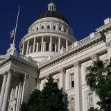 California state capital building in Sacramento