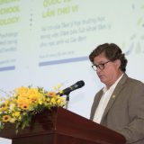 Dr. Michael Hass speaking at the 6th Conference on School Psychology in Hanoi, Vietnam